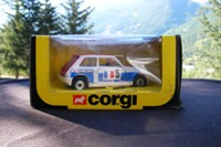 Corgi 381; Renault 5 Turbo Racing; White, blue, red, Facom sponsor logos, RN5