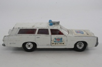 Matchbox King Size K--23; Mercury Commuter; White, Police