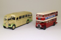Corgi Classics 97071; Devon 2 Bus Set, AEC; AEC Regal Coach & AEC RT Bus