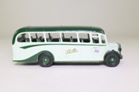 Corgi Classics 97102; Bedford OB Duple Vista Coach; Skills of Nottingham, Skegness, Light Green Bonnet