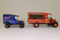 Corgi Classics 97751; Bass Brewery 2 Truck Set; Ford Model T Van & Thornycroft Brewers Dray