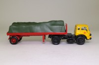 Corgi Classics 18601; Bedford KM; Artic Flatbed, British Rail, Sheeted Load