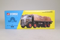 Corgi Classics 09701; ERF V; 8 Wheel Rigid Flatbed, ERF Parts Dept, Sheeted Load