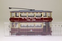 Corgi Classics 36712; Double Deck Tram, Closed Top, Closed Platform; Clarence House; The Queen Mother's Centenary, 1900-2000