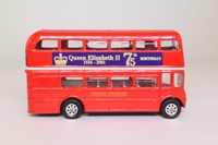 Corgi CC82304; AEC Routemaster Bus; Queen's 75th Birthday, 1926-2001
