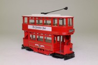 Corgi Classics C992/1; Double Deck Tram, Closed Top, Open Platform; Leeds City Tramways, Crossflatts Park via Meadow Lane