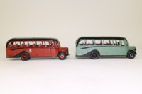 Corgi Classics 97078; Bedford OB Duple Vista Coach; Corkills to Kasteel 2 Bus Set