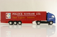 Corgi Classics TY86714; Volvo FH 1:64 Scale; Artic Curtainside; Pollock Scotrans/Jigsaw