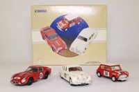 Corgi Classics 97708; Tour de France 3 Car Set; Ferrari 250, Mini Cooper, Jaguar MkII