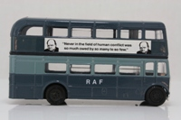 Corgi Classics D599/12; AEC RT Double Deck Bus (1:64); RAF; Battle of Britain 50th Anniversary