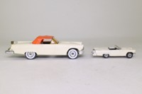 Corgi 1384; Ford Thunderbird Duo Set; Cream, 1;32 Scale & 1:64 Scale