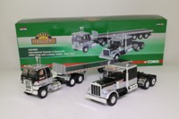 Corgi Classics US24902; Best Haul Truck Set; International Transtar & Kenworth; Lowboy Trailer