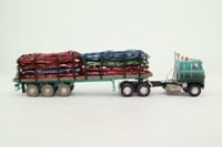 Corgi US51404; International Transtar; Artic Flatbed; Crushed Cars Load; Lindquist Trucking