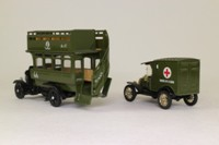 Corgi Classics C88; WW1 Bus & Ambulance 2 Pce Set; Thornycroft Bus & Model T Ambulance