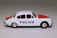 Corgi Classics 96685; Jaguar Mk.2; Staffordshire Police, White/Orange