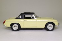 Corgi Classics 45201; MGB Roadster, 1:18 Scale; Soft Top; Primrose Yellow