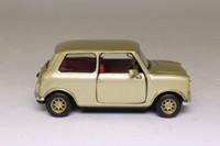 Corgi Classics CC82219; BL/Rover Mini; Gold Metallic, Red Interior