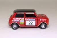Corgi Classics CC82225; BL/Rover Mini; Acropolis Rally, Robert Stacey & Nicky West; Corgi Collector club 2003