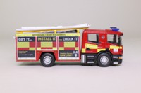 Atlas Editions 4144 115; Scania CP28 Pump Ladder Fire Engine; Hertfordshire Fire & Rescue