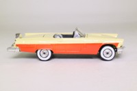Corgi Classics 810; 1957 Ford Thunderbird Convertible; Open Top, Cream over Orange