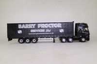 Corgi Classics CC15801; Mercedes-Benz Actros; Curtainside, Barry Proctor Services
