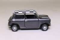Corgi Classics 04412; BL/Rover Mini; Charcoal; Black/White Chequer Roof