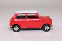 Corgi Classics 94145; BL/Rover Mini; Cooper, Red, White Roof