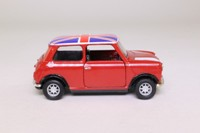 Corgi Classics 04410; BL/Rover Mini; Flame Red, Union Jack Roof
