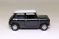 Corgi Classics 94145; BL/Rover Mini; Check Mate; Black & White