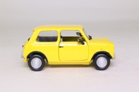 Corgi Classics CC82279; BL/Rover Mini; 1989 Solar Yellow Mini 850; Spike Milligan's Mini