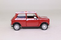Corgi Classics CC82262; BL/Rover Mini; Flame Red, Union Jack Roof