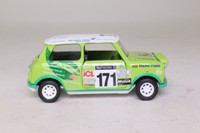 Corgi Classics 04433; BL/Rover Mini; 1998 NetworkQ RAC Rally; The Green Team, RN171