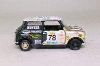 Corgi Classics 04436; BL/Rover Mini; Mighty Minis: Chris Hunter; RN78