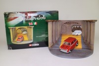 Corgi Classics CC82217; BL/Rover Mini; The Italian Job Diorama, Red