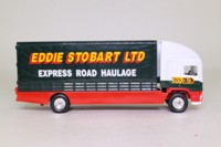 Corgi TY86805; ERF EC 1:64 Scale; Rigid Curtainside Truck; Eddie Stobart Ltd