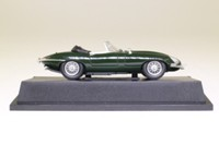 Atlas Editions 4 656 118; Jaguar E-Type Soft Top (1961-68); Open Top, British Racing Green