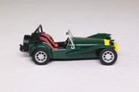 Atlas Editions 4 656 116; Lotus 7 Sports, Series 3; British Racing Green, Yellow Nose