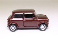 Corgi Classics 04502; BL/Rover Mini; Dark Mulberry Red, 40th Annversary Mini