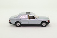 Corgi 385; Mercedes-Benz 190; Silver, Opening Doors & Sunroof