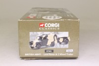 Corgi Classics 07501; Land-Rover Series 2 109; With Trailer; British Army