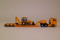 Corgi CC13425; MAN TGA XXL; Nooteboom Low Loader & JCB 3CX Load