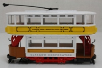 Corgi Classics C992/2; Double Deck Tram, Closed Top, Open Platform; Glasgow Corporation Tramways; Kelvinside, Hyndland