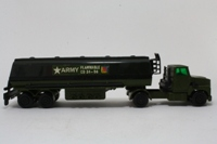 Matchbox Super Kings K-115/1; Ford LTS Petrol Tanker; Army