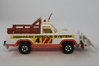 Matchbox SuperKings K-65/1; Plymouth Trail Duster; Emergency Rescue
