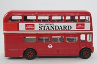 Corgi 469; AEC Routemaster Bus; London Transport; Rt 16 Cricklewood Garage, Marble Arch, Maida Vale, Kilburn, London Standard