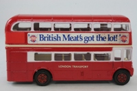 Corgi C469; AEC Routemaster Bus; London Transport; 279 Smithfield; British Meat's Got The Lot