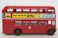 Corgi Classics 469; AEC Routemaster Bus; London Transport; Rt 16 Liverpool St, Chelsea, Charing X, Fleet St