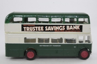 Corgi Classics D599/2; AEC RT Double Deck Bus (1:64); Nottingham City Transport; Rt 57 Arnold