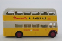 Corgi Classics 643; AEC RT Double Deck Bus (1:64); Newcastle Transport; Rt 2 Church St, Market St