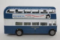 Corgi Classics C599/7; AEC RT Double Deck Bus (1:64); Bradford; Rt 82 Shelf